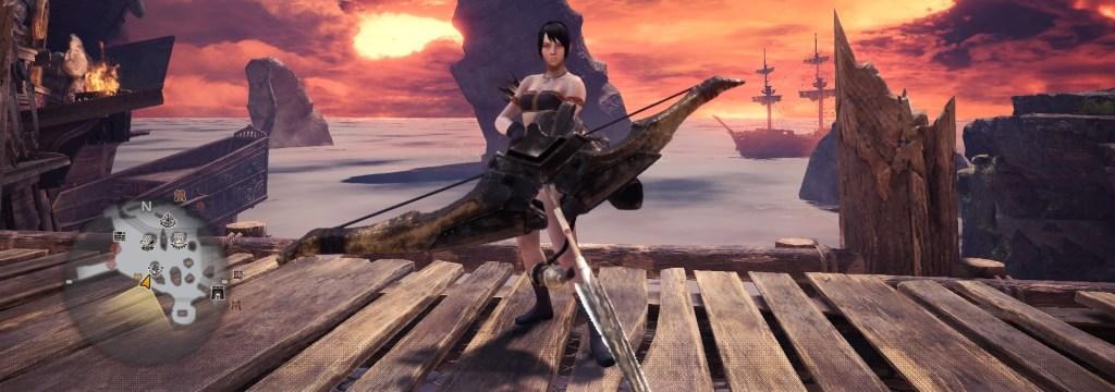 Monster Hunter World Dragonbone Bow