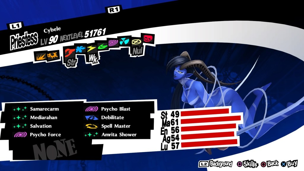 Persona 5 Royal, Cybele Persona
