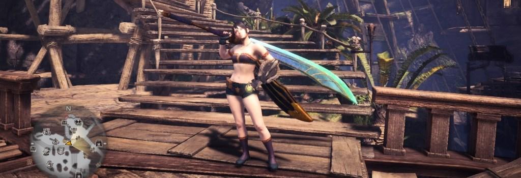 Monster Hunter World, Easy Weapon, Long Sword
