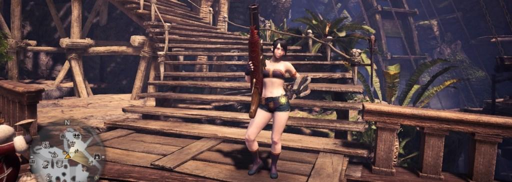 Monster Hunter World, Easy Weapon, Light Bowgun