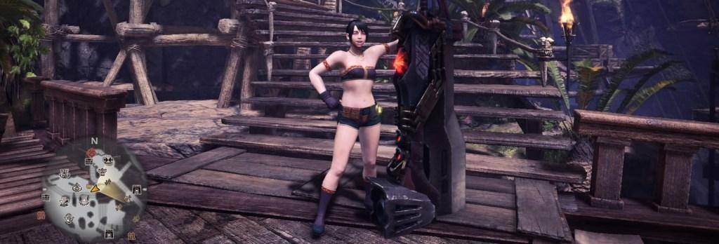 Monster Hunter World, Easy Weapon, Great Sword