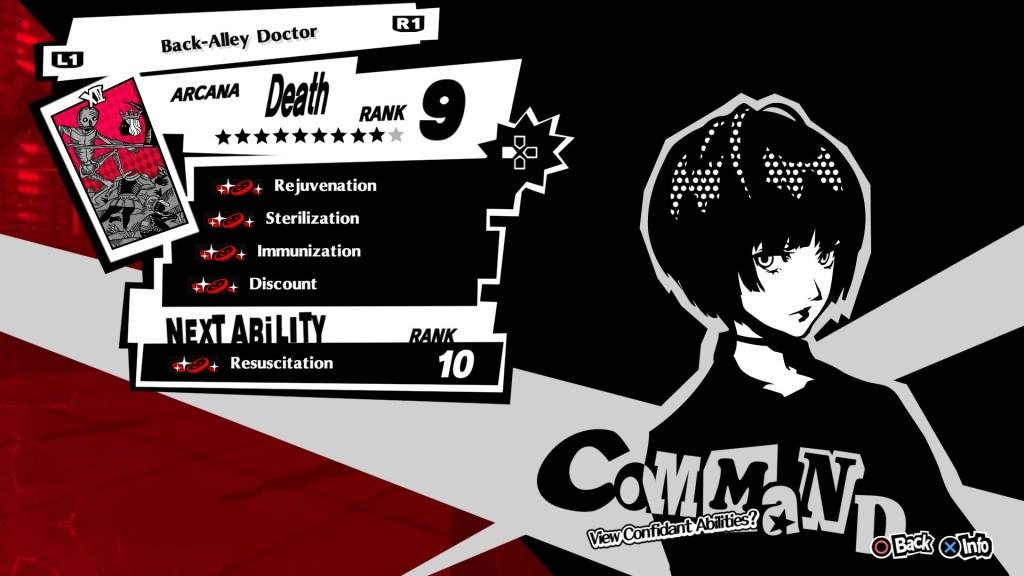Persona 5 Royal Confidant, Tae Takemi