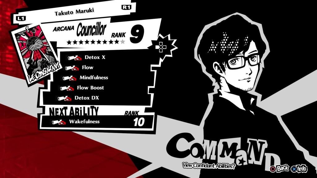Persona 5 Royal Confidant, Maruki