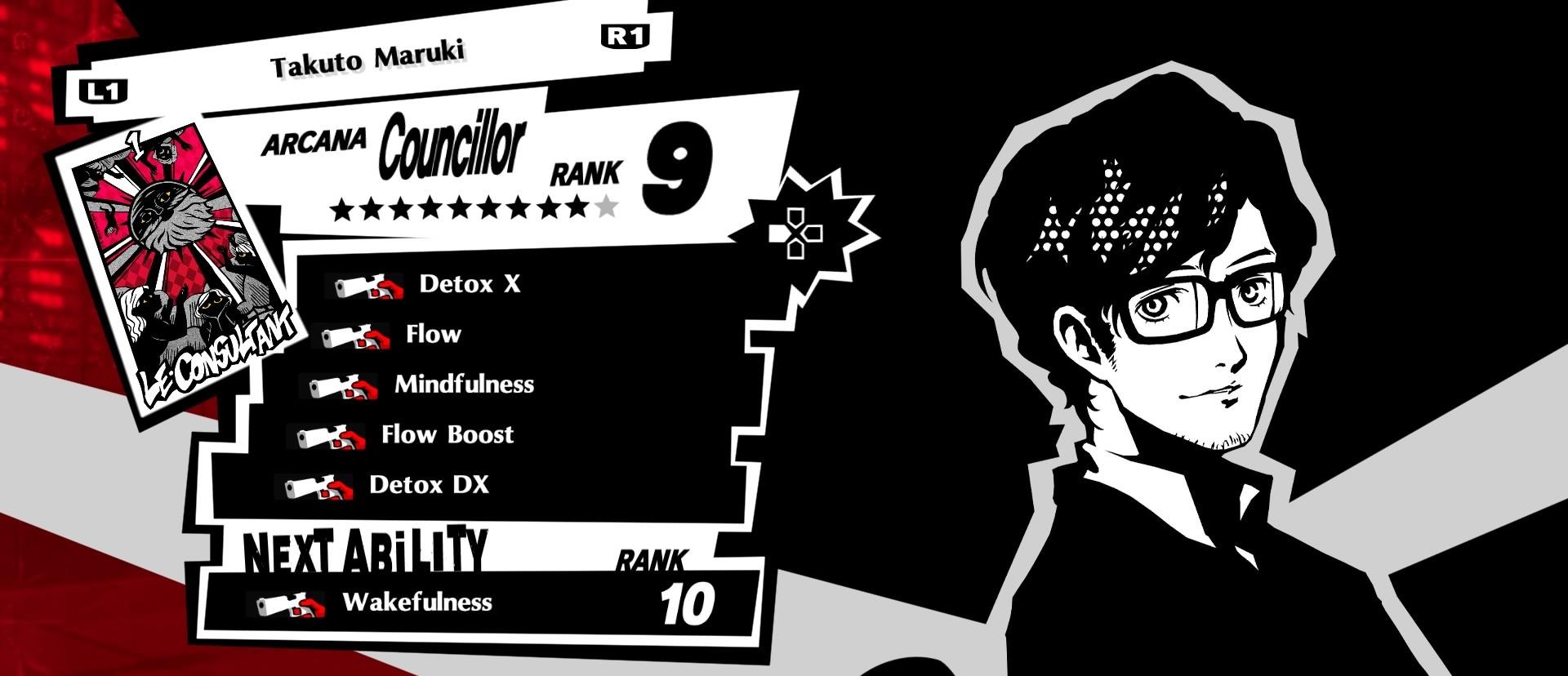A Tier Confidant, Maruki, Persona 5 Royal