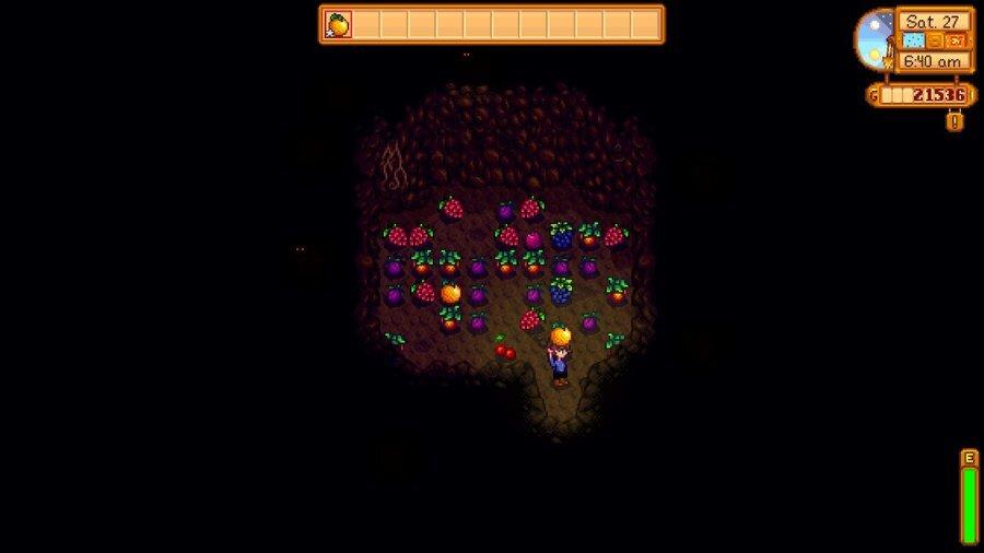 Stardew Valley Fruit Bat Cave