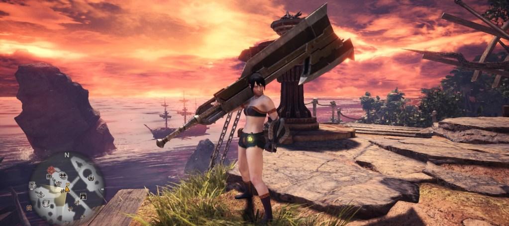 Monster Hunter World Switch Axe, Thunder Axe