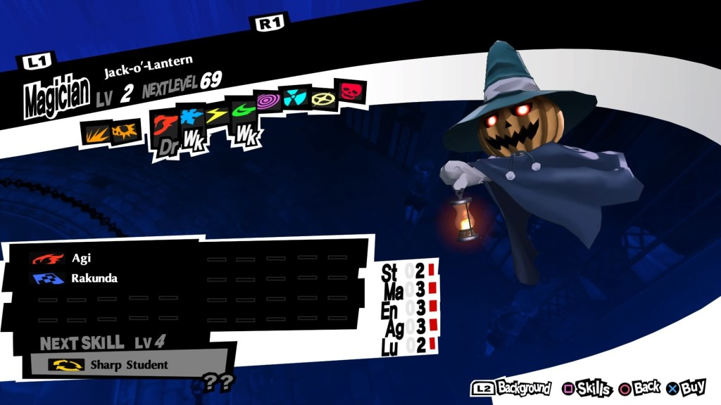 Persona 5 Royal, Jack-o'-Lantern Persona