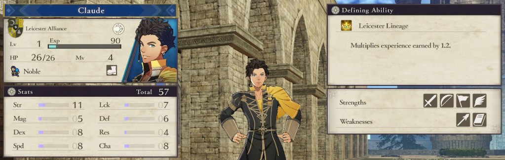 Fire Emblem Three Houses Character, Claude