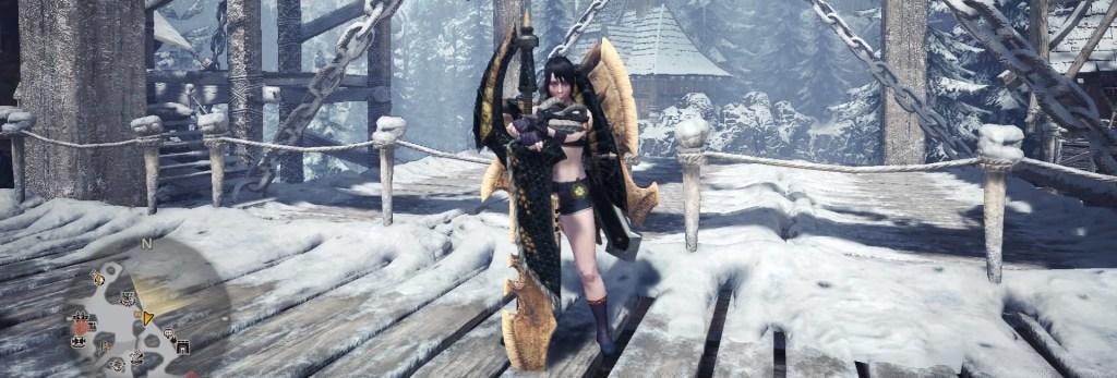 Monster Hunter World Charge Blade, Girros Strongarm
