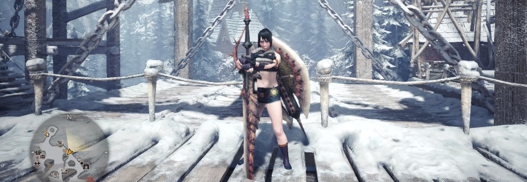 Monster Hunter World Charge Blade, Dear Lutemis