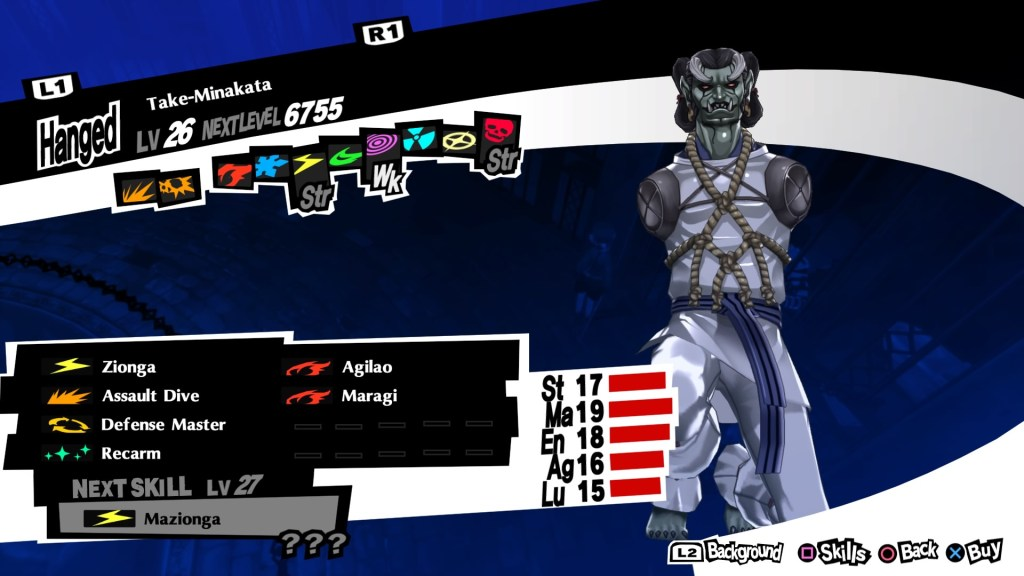 Persona 5 Royal, Take-Minakata Persona