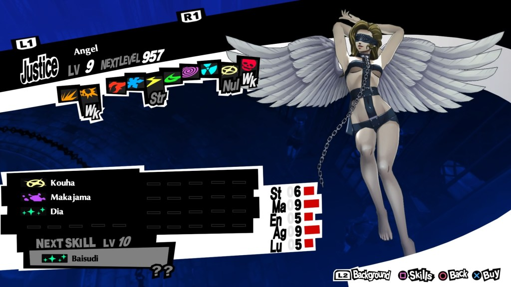 Persona 5 Royal, Bless Persona, Angel