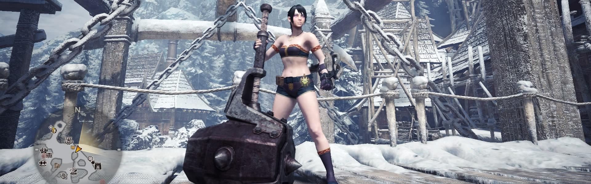 Monster Hunter World, Early Hammer, Defender