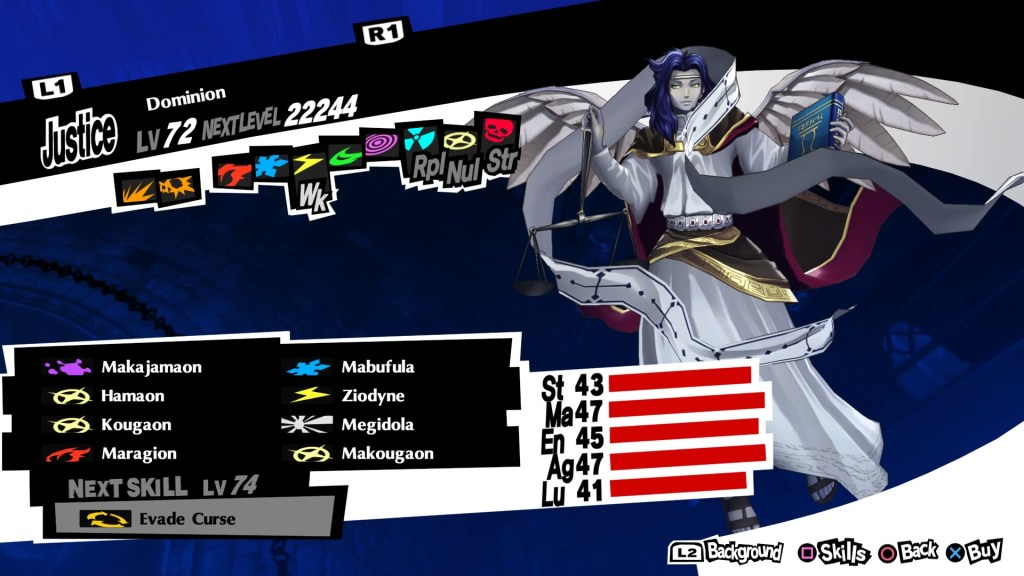 Persona 5 Royal, Bless Persona, Dominion