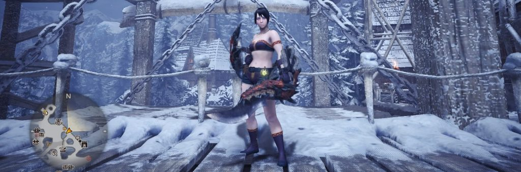 Monster Hunter World, Early Sword and Shield, Flame Knife