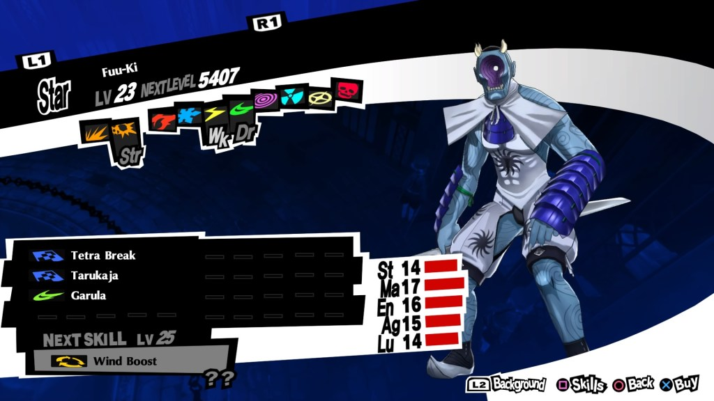 Persona 5 Royal, Wind Persona, Fuu-Ki
