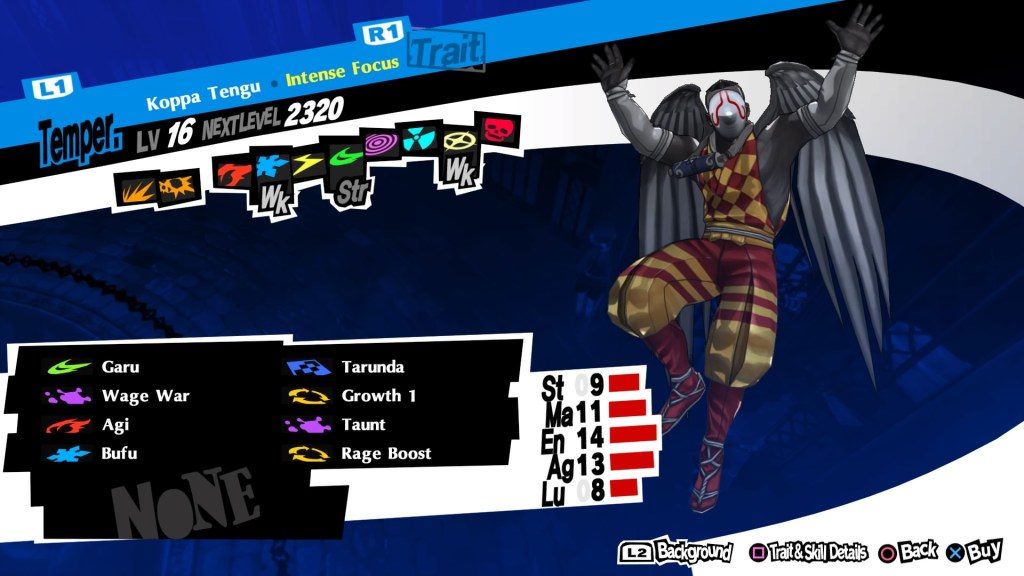 Persona 5 Royal, Koppa Tengu Persona