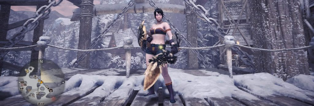 Monster Hunter World, Early Sword and Shield, Spiked Edge