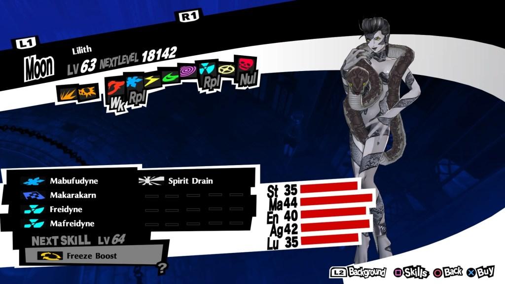 Nuke Persona Lilith, Persona 5 Royal