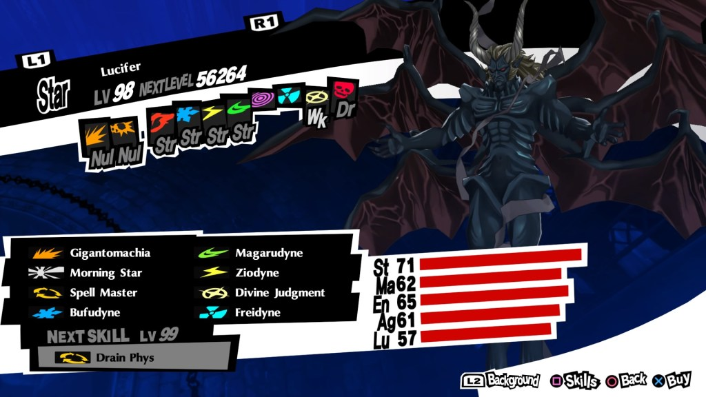 Almighty Persona Lucifer, Persona 5 Royal
