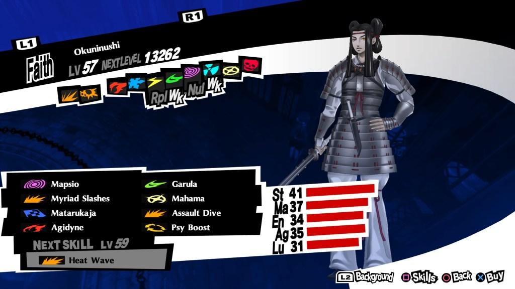 Psy Persona Okuninushi, Persona 5 Royal