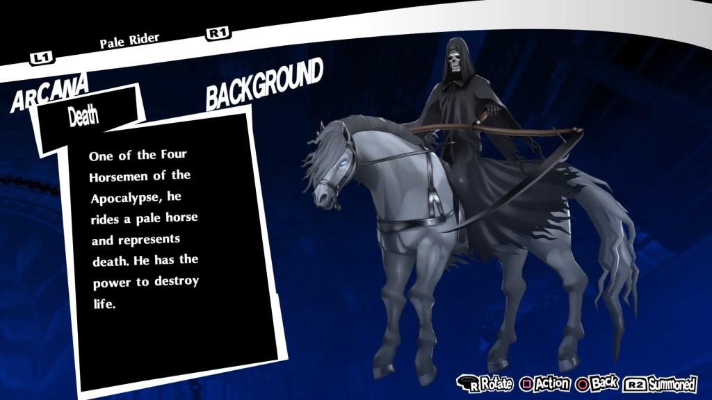 Pale Rider Persona