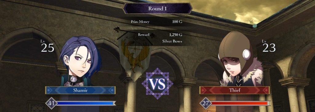 Tournament Start Screen, Fire Emblem: Three Houses