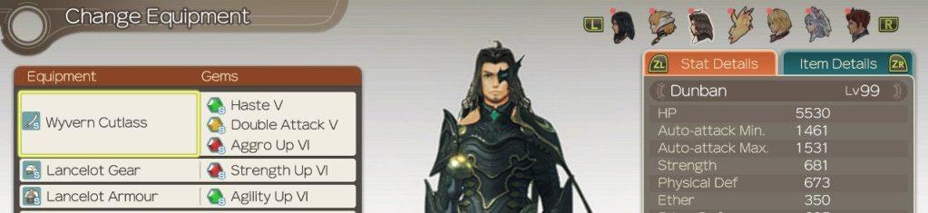 Gems for Dunban, Xenoblade Chronicles Definitive Edition