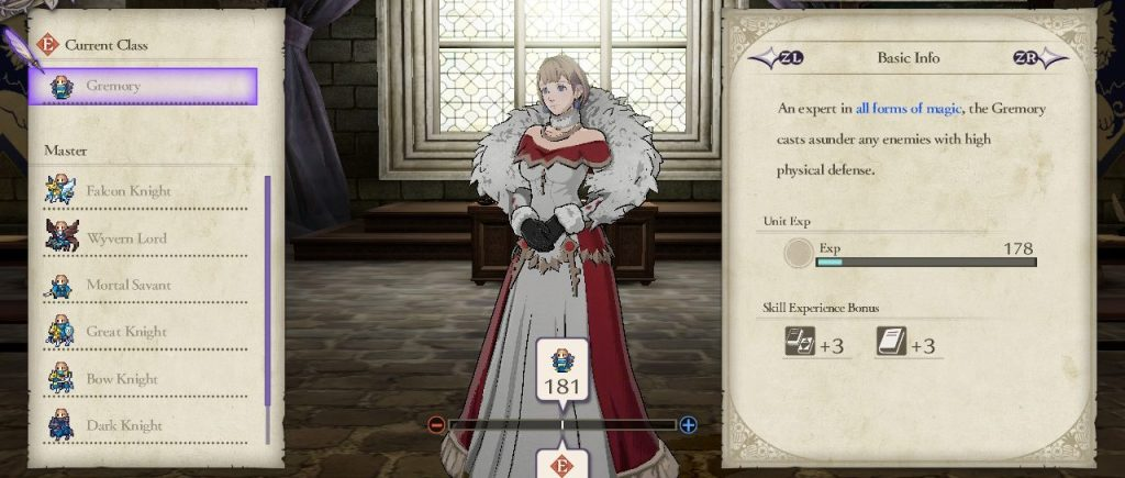 Gremory Class, Fire Emblem: Three Houses