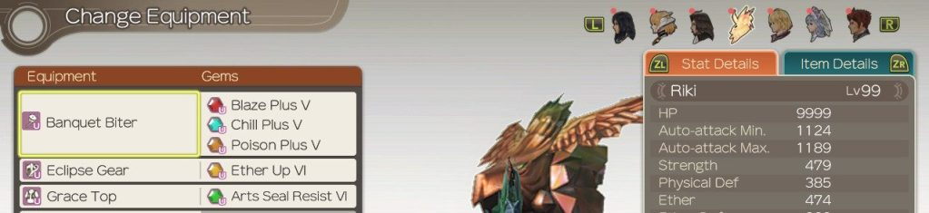 Gems for Riki, Xenoblade Chronicles Definitive Edition