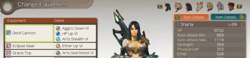 Gems for Sharla, Xenoblade Chronicles Definitive Edition