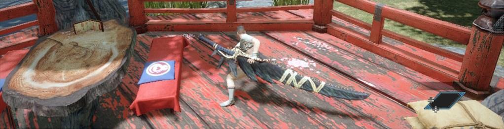 Long Sword, Hidden Sabre, Monster Hunter Rise