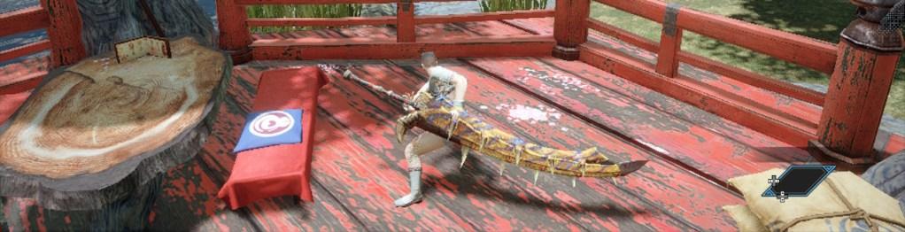 Long Sword, Tigrine Edge, Monster Hunter Rise