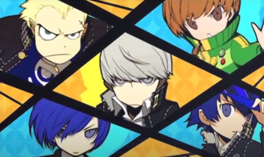 All Out Attack animation, Persona Q
