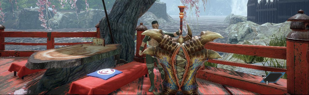 Tigrex Divide Charge Blade, Monster Hunter Rise