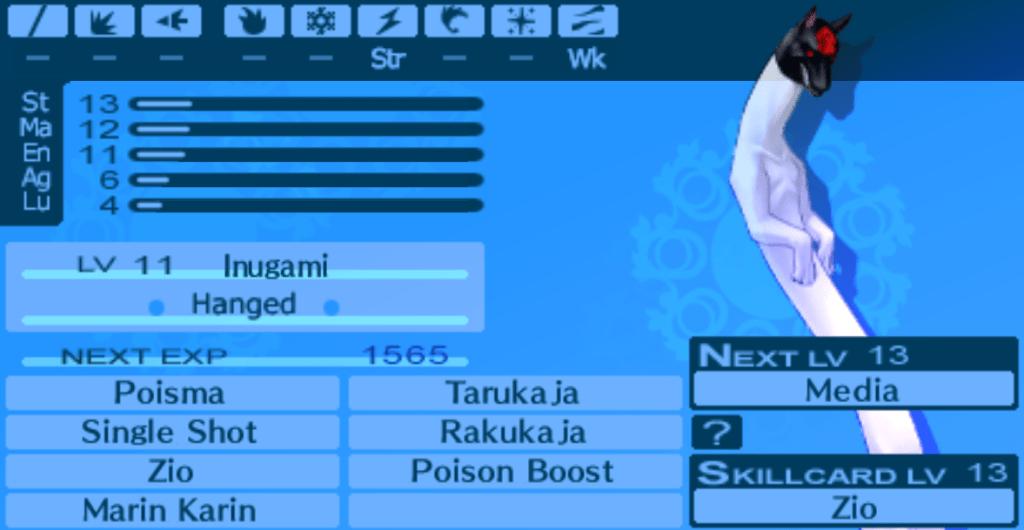 Inugami, Persona 3