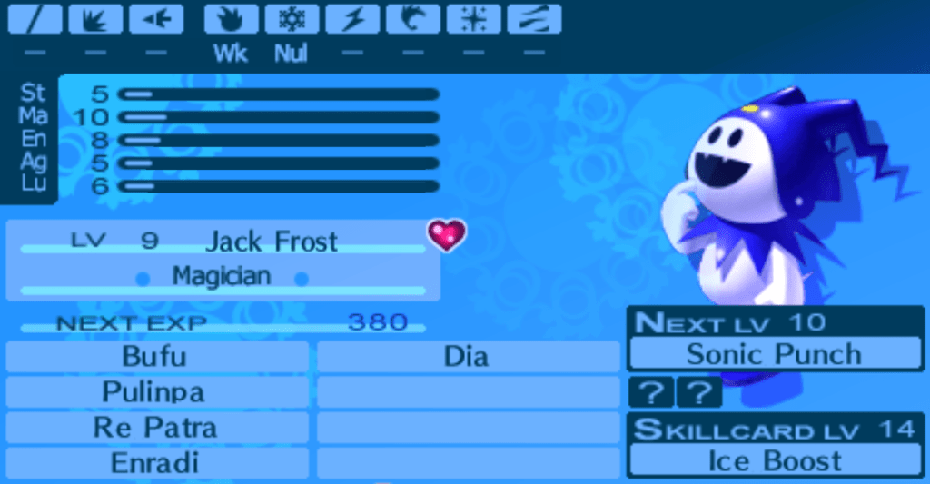 Jack Frost, Persona 3